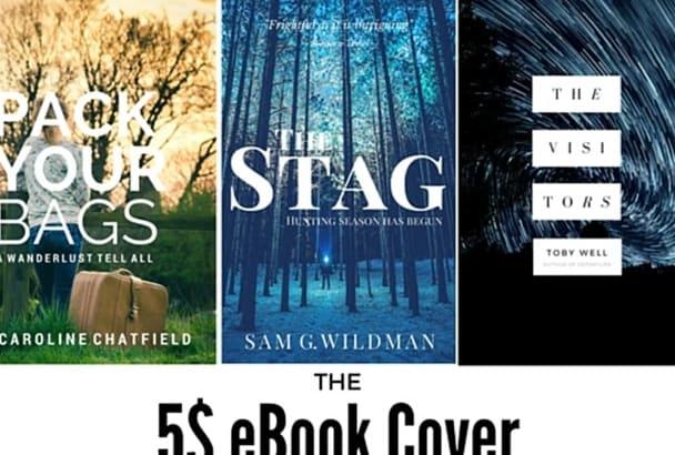 create beautiful eBook covers in 2D or 3D