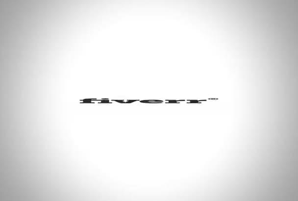 make Glitch logo animation