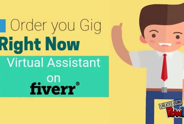 work as your professional virtual assistant for 1 hour