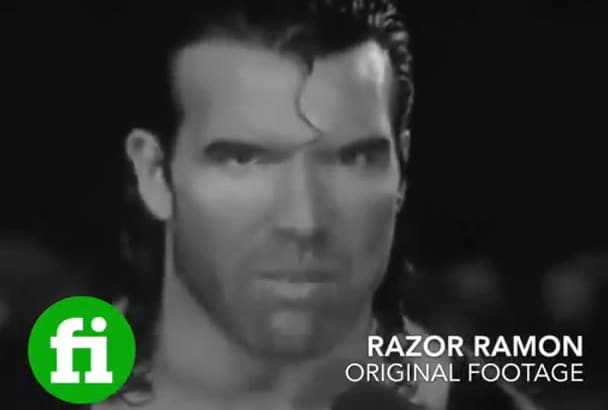 read Anything as wrestling legend Razor Ramon