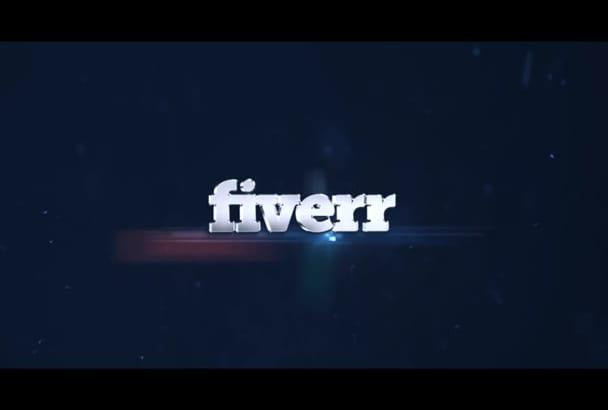logo Explosion Video Intro