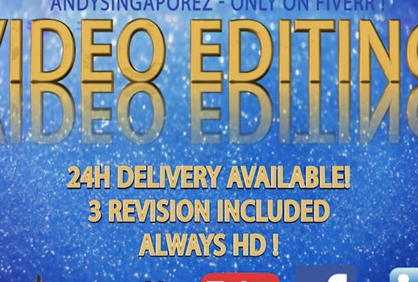 edit, color correct and enhance any video