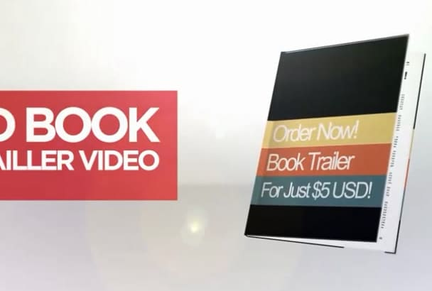 creat book Promotional video