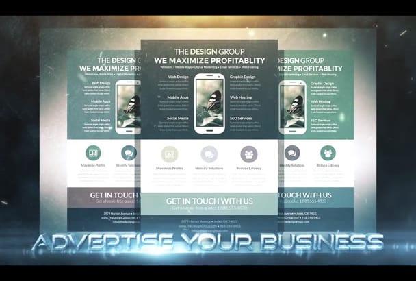 design Creative Flyer, Brochure Or Poster