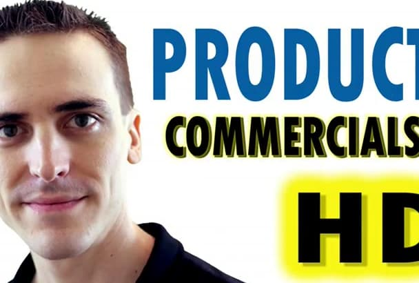 create a product video commercial