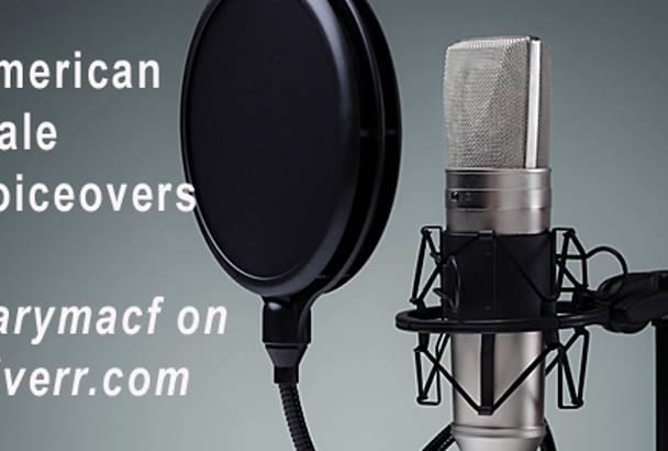 record a Professional Male Voiceover Narration