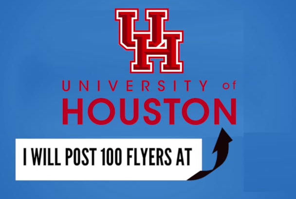 post 100 Flyers at the University of Houston TX