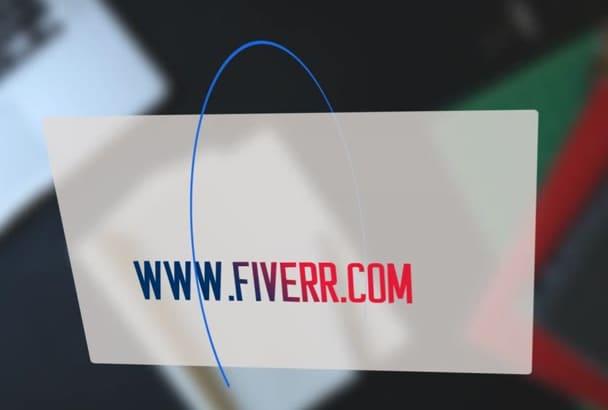 design Creative Logo Intro Video in HD With Google search