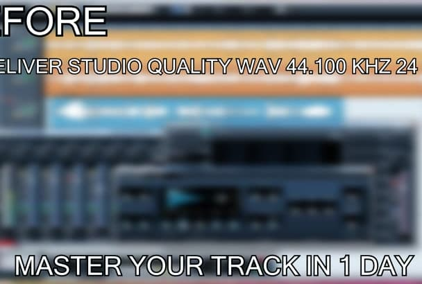 master your song in 1 day