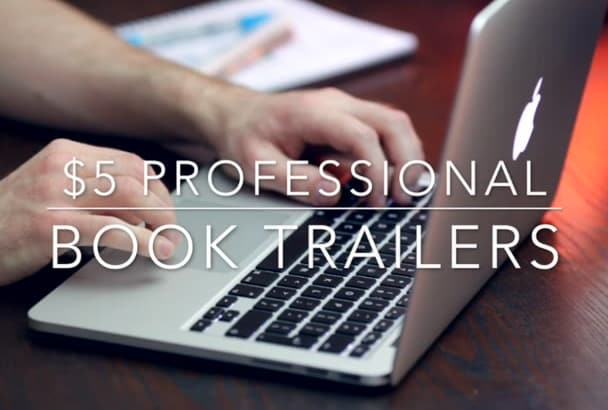 create a professional book trailer for your novel