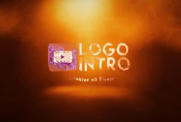 logo intro FIRE video