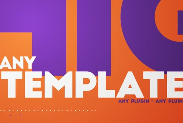 edit ANY After Effects template for you