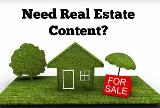 update your real estate content