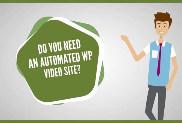 install Amazing Automated Wordpress Video Blog
