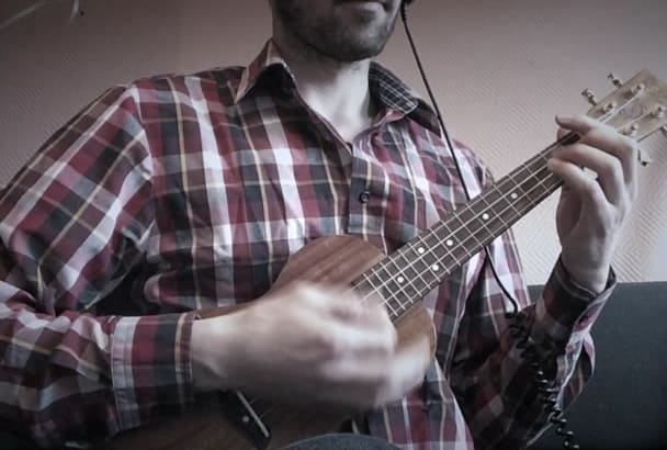 create a high end ukulele track for you in 1 day