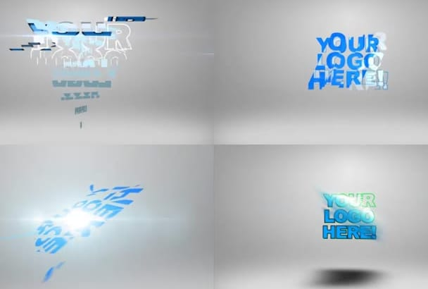 make multiple logo intros