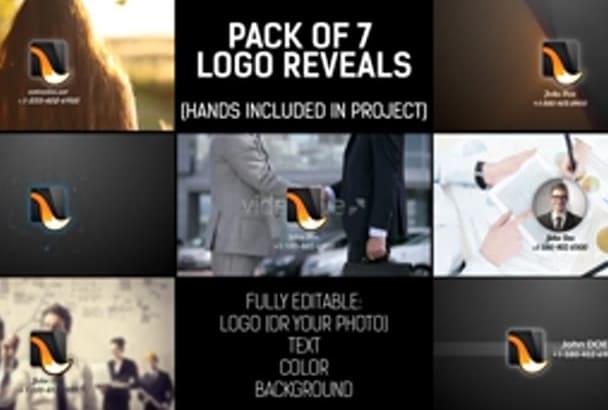 do 2 Hand Reveal LOGO Intro