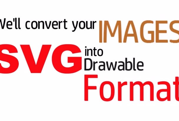 trace Your Images into Any Format
