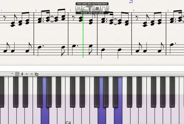 transcribe music into sheet
