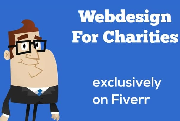 create a charity nonprofit donations website