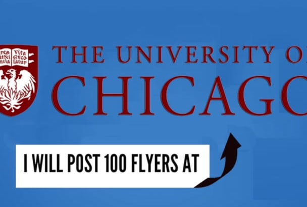 post 100 Flyers at the University of Chicago UC