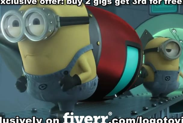 advertise your company with this funny minion bomb video
