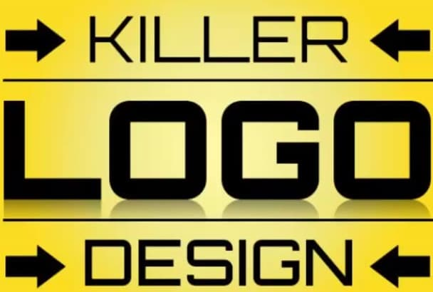 design KILLER Logo for Your Brand Business or Website