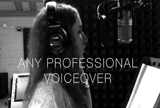 record a Professional Voice Over in SPANISH today