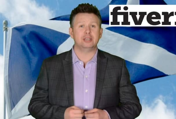 be your scottish video spokesman