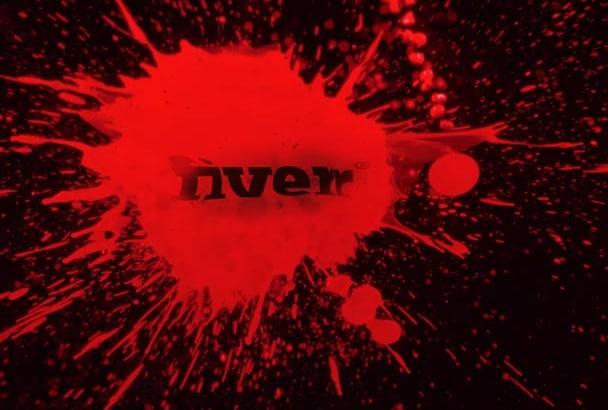 create this splatter logo reveal