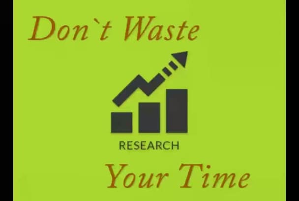 do Data Research  for any Business Category  in the World