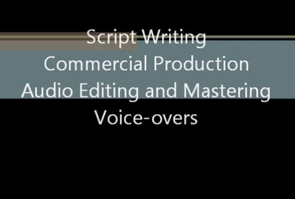 write you a radio commercial that sells