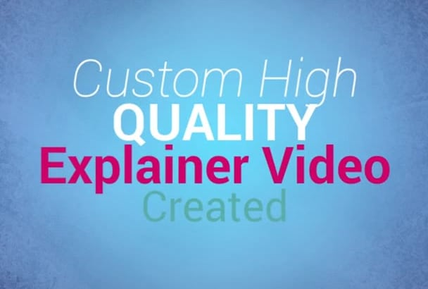 create an engaging animation EXPLAINER video