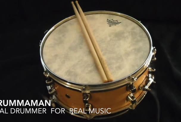 record Custom Professional  Percussion tracks for your song