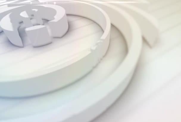 create strip Bright logo Reveal