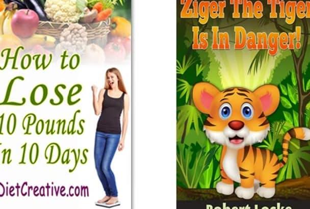 design a Professional Kindle Cover