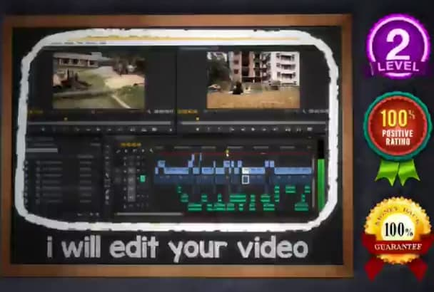 edit your video and do the vfx work