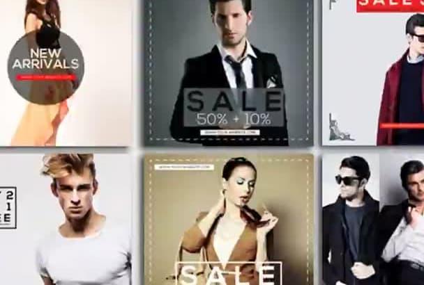 make GREAT online shop instagram template