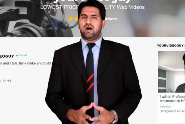 do your website presentation HD