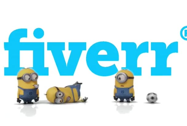 make minion play soccer and advertise your logo and text