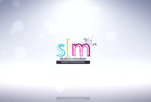 design and animate a logo for you