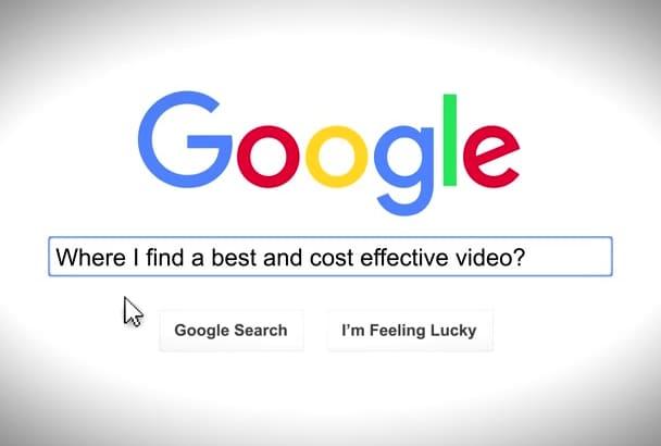 edit this custom google search logo reveal