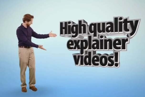 make awesome explainer videos with real actors