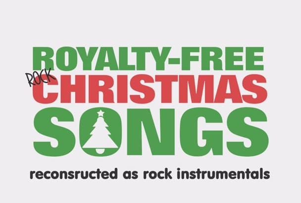 give you royalty free instrumental Christmas rock songs