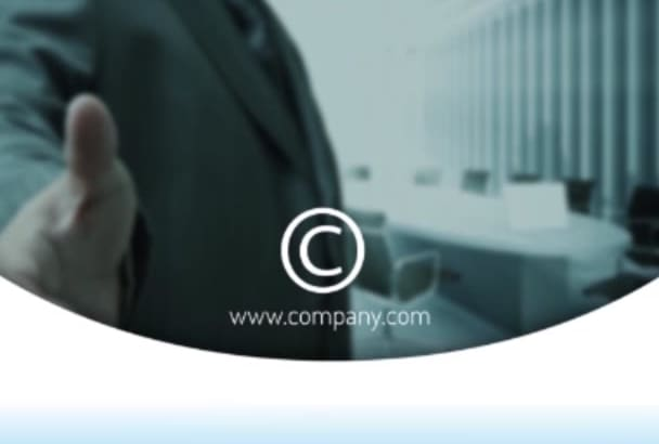 create company overview intro and promotional video
