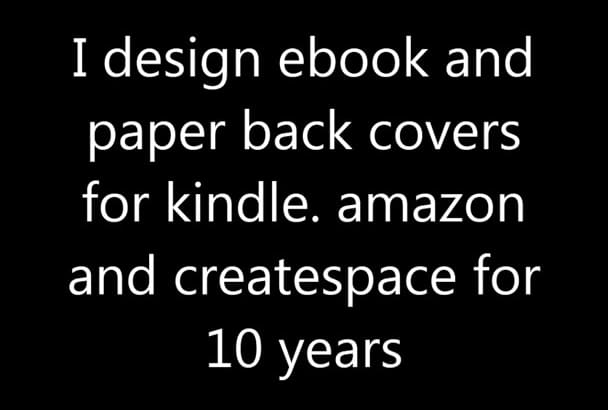 create big seller cover for ebook and paperback