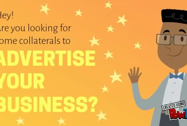 create a PROFESSIONAL brochure, flyer, banner or poster