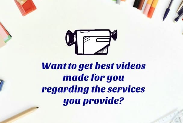 create an animated video marketing ad for your business
