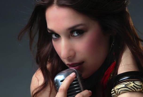 record a professional italian voice over