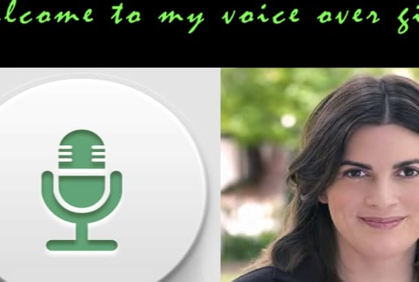 record an American female business voice over
